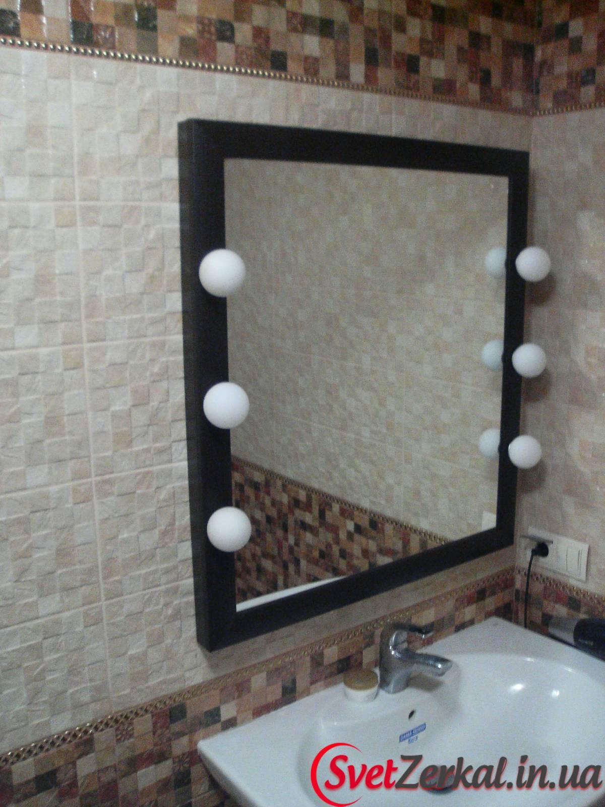 Подсветка для зеркала для макияжа своими руками